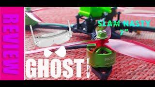 """Ghost FPV - Maiden flight of 7"""" Slam Nasty GPS custom long range build"""