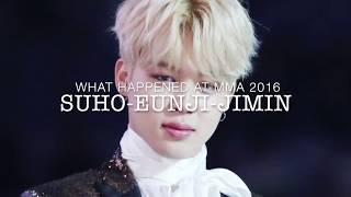 [BTSPINK & EXOPINK]  Suho, Eunji & Jimin: A Love triangle?