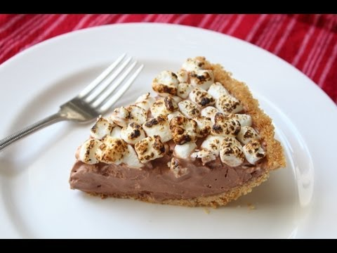 S'more Ice Cream Pie – Frozen Graham Cracker