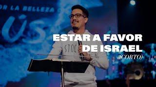 Benjamin Núñez | Estar a Favor de Israel (7m)