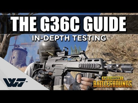 雪地新556步槍 G36C 全解析 和SCAR-L比較