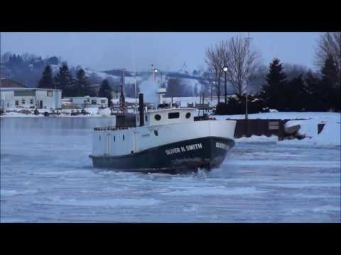 Ice Breaking Boat