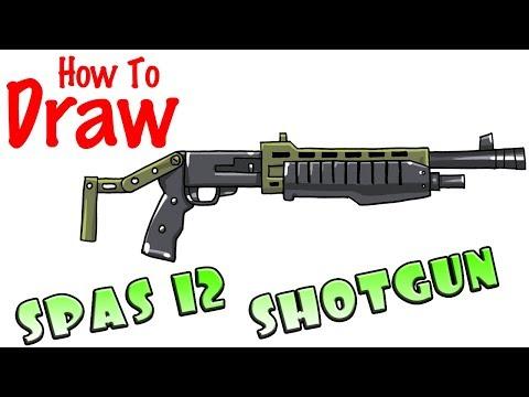 Where Are The Spas In Fortnite How To Draw Spas 12 Shotgun Fortnite Netlab