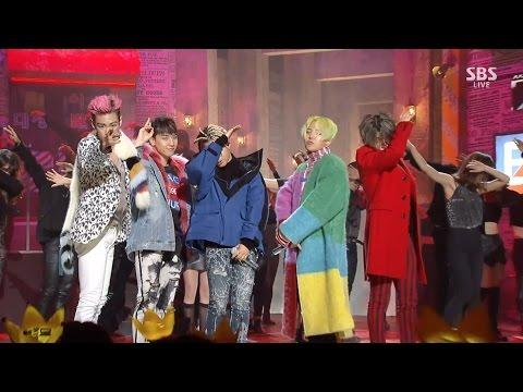 Chris Brown - BIGBANG — 'LAST DANCE' 1218 SBS Inkigayo