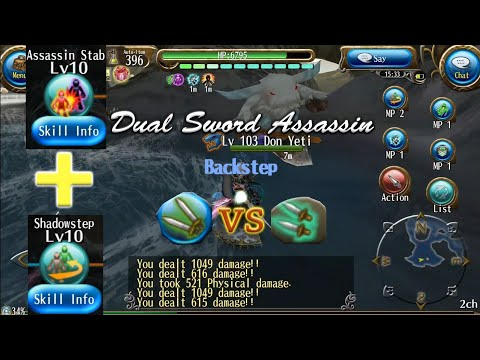 Dual sword assassin vs 1H Asssassin Test Damage Build! Damage