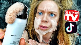 Should You TRUST This FOAMING BUBBLE Makeup? (Debunking TikTok Makeup & Skincare Products!) by GRAV3YARDGIRL