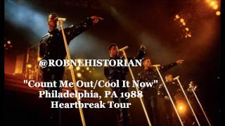 """Count Me Out/Cool It Now"" New Edition (Heartbreak Tour) 1988"