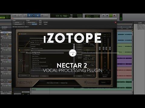 Izotope nectar 2 authorization file  izotope nectar 2 crack
