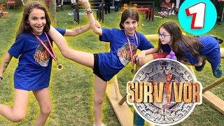 Maya Sınıf Arkadaşlarıyla Survivor Da Yarıstı Yılan Tuttu   1. Bölüm | Bizim Aile