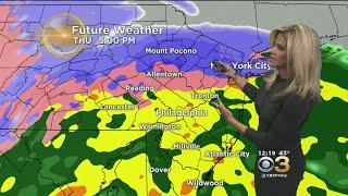 Mid-Day Weather Update: Wintry Precipitation Tomorrow