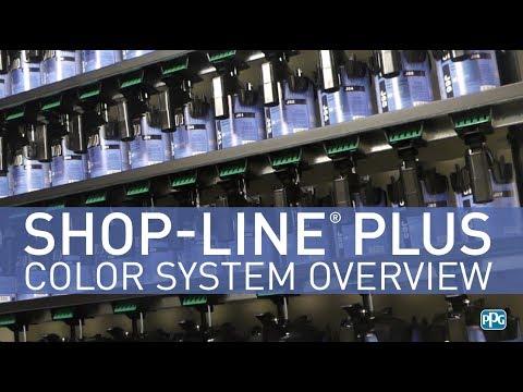 PPG Shop-Line® Plus Color System Overview