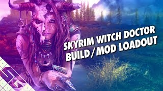 Skyrim Witch Doctor Build! Mod List! PS4!