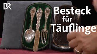 Goldner Löffel im Mündchen: Silberbesteck   Kunst + Krempel   BR