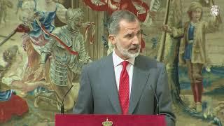 Palabras de S.M. el Rey en el almuerzo con los Patronos del Instituto Cervantes y los Embajadores Iberoamericanos acreditados en España