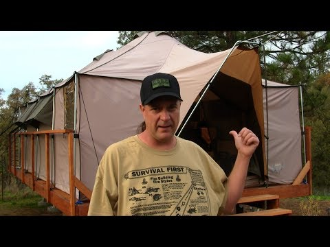 Cabela's Ultimate Alaknak Tent 12×20 Camping Review