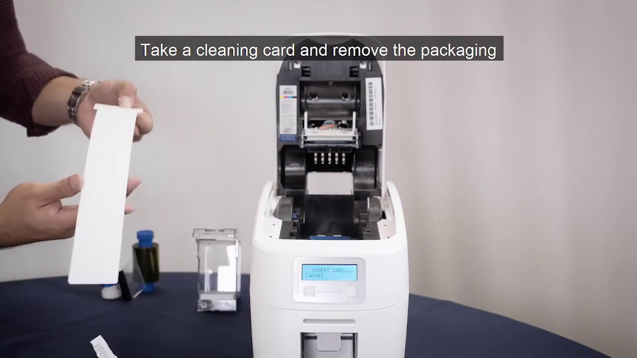 Magicard 300 - Cleaning Your Printer