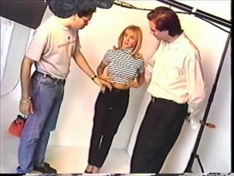 Yolandita Monge Crudos de Shooting Pepe Jeans 1995