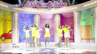 [HIT] 뮤직뱅크-AOA - 단발머리.20140620