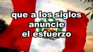 HIMNO NACIONAL DEL PERU Nuevo Sexta Estrofa LETRA
