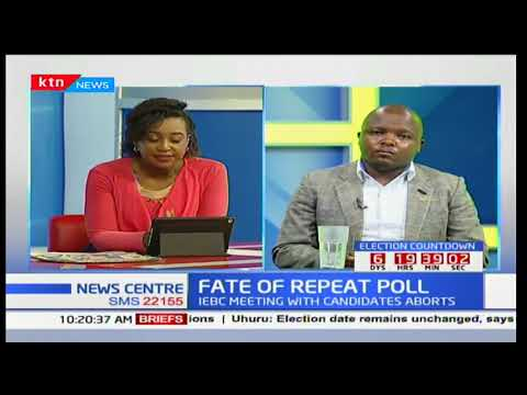 News Center discussion: The Grand meeting between IEBC and presidential candidates Part 3