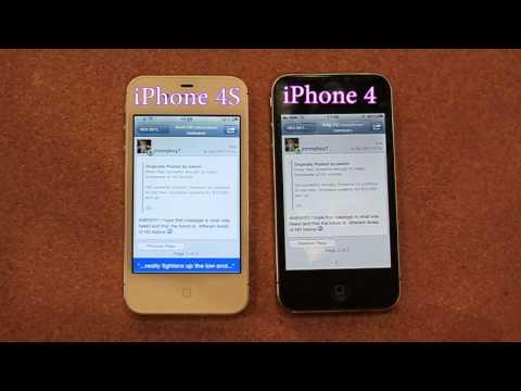 0 iPhone 4s im Performancevergleich mit iPhone 4 & 3GS [Videos] Apple Apple iOS Apple iPhone 3GS Apple iPhone 4 Smartphones Technology