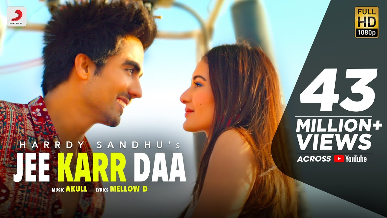 Jee Karr Daa Hindi lyrics