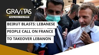 Gravitas: Beirut blasts | Lebanese People call on France to takeover Lebanon - Download this Video in MP3, M4A, WEBM, MP4, 3GP