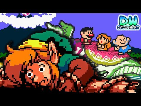Parodia de Link's Awakening