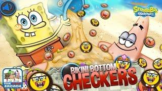 Bikini Bottom Checkers - SpongeBob & Patrick Play A Friendly Game (Nickelodeon Games)