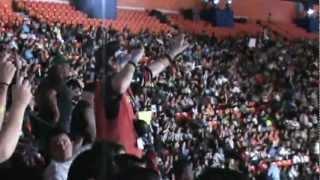 Crazy Fan at Wrestlemania XXVIII
