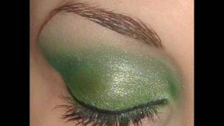 Emerald Green Inspired Make-Up Look