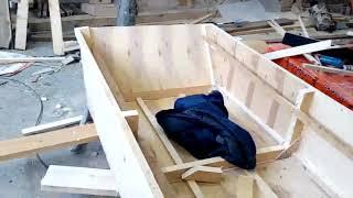 Чертеж лодки плоскодонки из фанеры