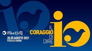El encuentro en que participó Volo en el Meeting 2021 (en italiano)