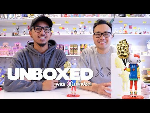 Let's unbox Hello Kitty Nostalgic by Candie Bolton x Kidrobot! - Unboxed EP84