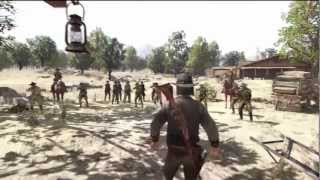 White Buffalo and the Forest Rangers - House of the Rising Sun (Red Dead Redemption)