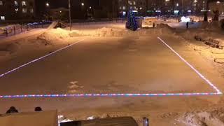 В Кемерове впервые появится каток со светящимся льдом