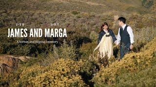 Korean 🤵🏻👰🏻 Filipina Forest 🌲 Wedding 💍 Video 🌊