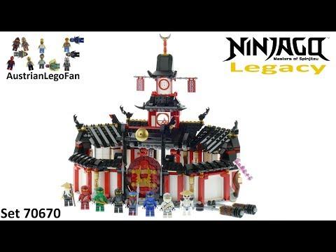 Vidéo LEGO Ninjago 70670 : Le monastère de Spinjitzu