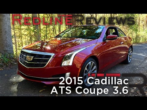 2015 Cadillac ATS Coupe 3.6 – Redline: Review