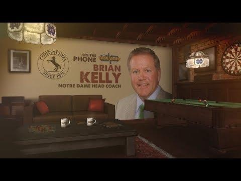Notre Dame HC Brian Kelly Talks Michigan Win, Saban & More w/Dan Patrick   Full Interview   9/6/18