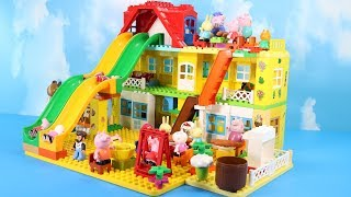 Lego Duplo Peppa Pig House Construction Set - Peppa Pig Legos Creations Toys For Kids #4