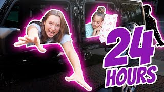 24 Hours Overnight in a Jeep Challenge | It's R Life
