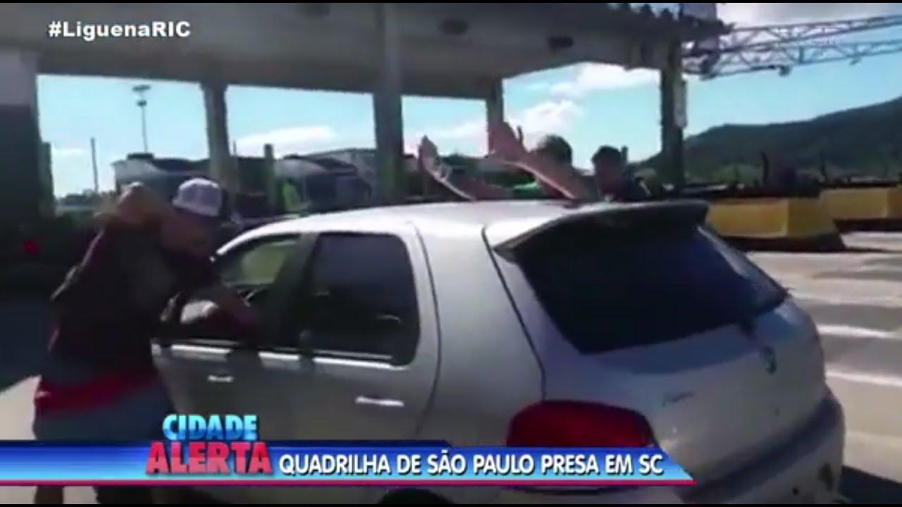 b2671b071b4 Quadrilha de São Paulo é presa em Santa Catarina