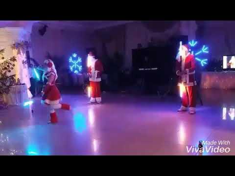 Світлодіодне шоу FIRE DANCE на весілля, відео 1