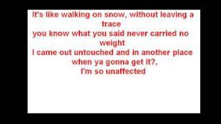 Jordin Sparks-walking on snow (with lyrics)
