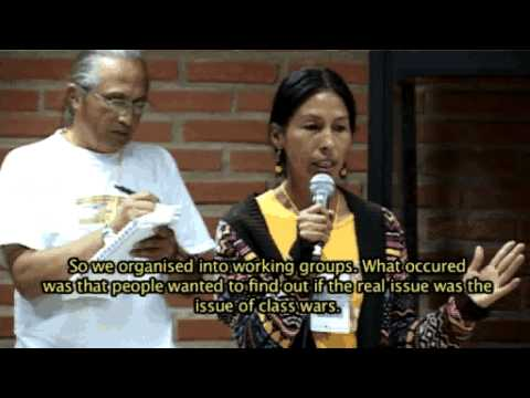 Class Wars Between the Left and Nature - World People's Conference on rights of Mother Earth (2)