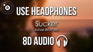 Jonas Brothers   Sucker (8D AUDIO)