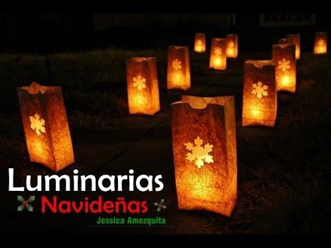 DIY: Luminarias Navideñas 🎅