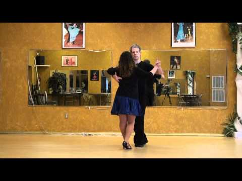 Brett (and Erika) teaching an intermediate Cha Cha figure on Youtube.