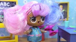 #ХЭЛЛОУИН и ДВОЙКА В ШКОЛЕ Играем в Куклы ЛОЛ Мультики LOL Surprise Школьные Истории для Детей